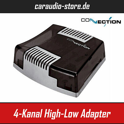 Audison Connection SLI 4 - 4-Kanal High-Low Adapter mit Remote Erzeugung