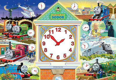 07327 Ravensburger Thomas&friends Clock Puzzle 60Pc [Children's Jigsaw Puzzle]