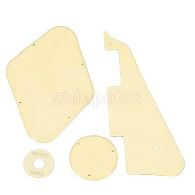 Cream Scratchplate Cavity Switch Cover Replacement For LP Les Paul Guitar