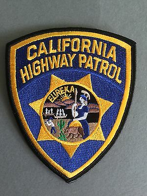 California Highway Patrol Iron on/Sew on Cloth patch