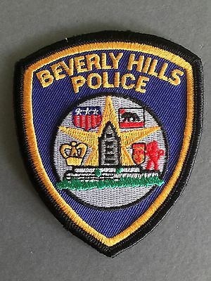 Beverly Hills Police Department Iron on/Sew on Cloth patch