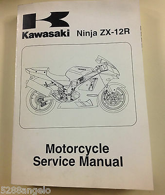 Shop Manual Kawasaki Zx 12R Ninja Product From 2005