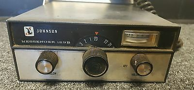 Johnson Messenger 123B Channel CB Radio W/MIC -Untested