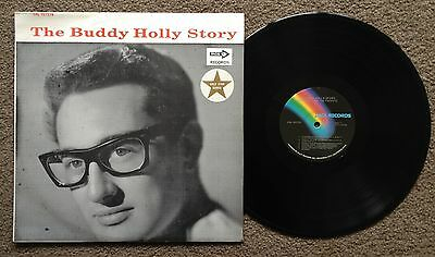 The Buddy Holly Story - Oz Press Mca Label Lp - The Crickets - Crl 757279