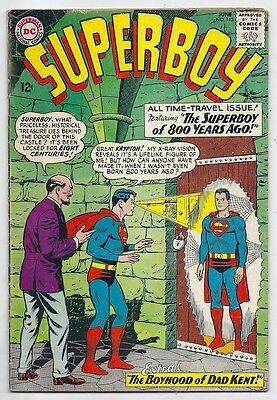 (1964) Superboy #113 Cool Silver Age Dc Comic Book! 4.0 / Very Good  Sale!!!