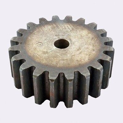Motor Spur Gear 2.5Mod 53Tooth 45# Steel Outer Dia 137.5mm Thickness 25mm x 1Pcs