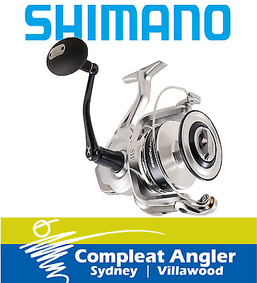 Shimano Saragosa 6000SW Spin Fishing Reel BRAND NEW At Compleat Angler