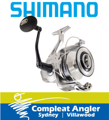Shimano Saragosa 8000SW Spin Fishing Reel BRAND NEW At Compleat Angler