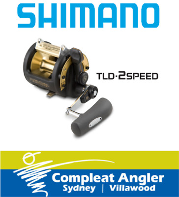 Shimano TLD 2Speed 30A Overhead Fishing Reel BRAND NEW At Compleat Angler