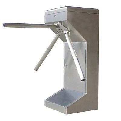 Manual Waist High Tripod Turnstile Intelligent Access Control 304# Stainless