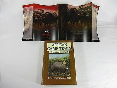 African Game Trails Africa Wanderings Theodore Roosevelt Winchester Arms Cover