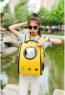 New Arrival Pet Cat Dog Bag Backpack Portable Travel Breathable Carrier 4 Colors
