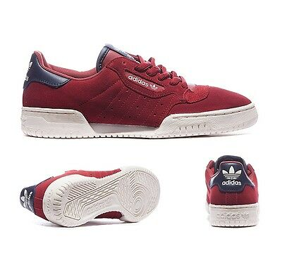 Mens Adidas Powerphase OG Red/White/Navy Trainers RRP £61.99