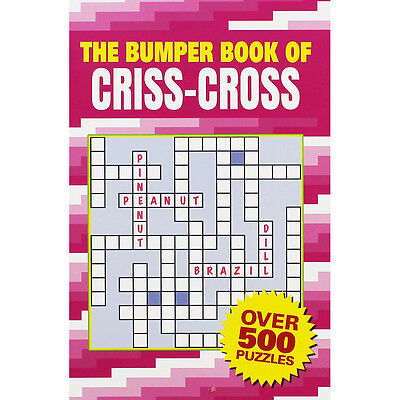 The Bumper Book of Criss-Cross (Paperback), Toys & Games, Brand New