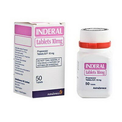 Inderal 10Mg Tablets 50 Tab