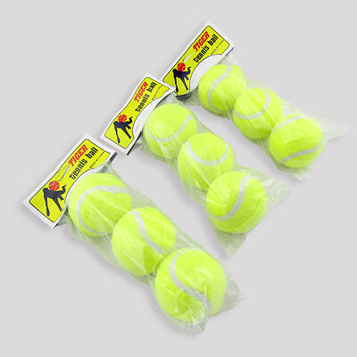 3pcs X Durable High Resilience Tennis Ball Tennis Tranning Practice sa3