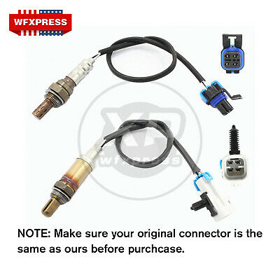 New Upstream&Downstream Oxygen O2 Sensor for 2002 2003 Chevrolet Trailblazer EXT