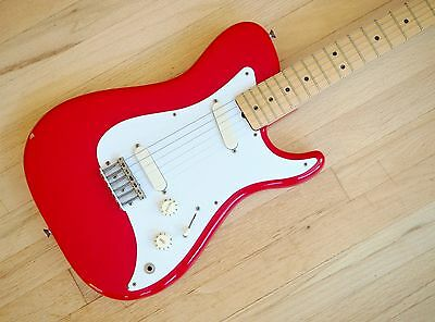 1982 Fender Bullet Standard Electric Guitar John Page Telecaster USA Red