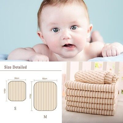 Newest Newborn Baby Changing Cotton Pad Liner Cover Infant Soft Diaper Urine Mat