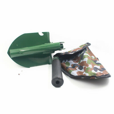 Outdoor Camping Army Military Mini Folding Spade Shovel Entrenching Tool