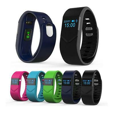 Fitness Sports Smart Bracelet Bluetooth v4.0 IP68 Waterproof Heart Rate Monitor