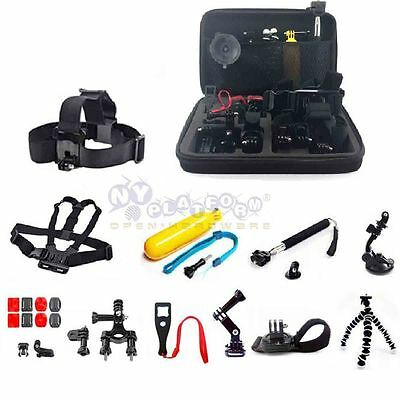 26in Accessories Sports Outdoor Bundle Kit Set for GoPro Hero 1/2/3/3+/4 Camera