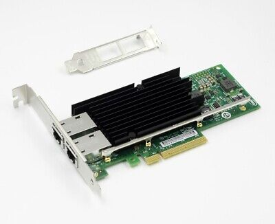Intel X540-T2 10G Dual RJ45 Ports PCI-Express Ethernet Converged Adapter Nic New