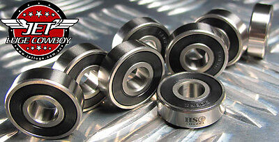 HSC Ceramic Bearings 16 x 608 (8x22x7mm) for Inline skating, roller skating