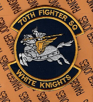 USAF Air Force 70th Fighter Squadron FS patch