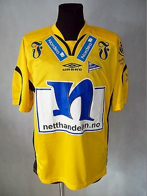 IK Start 2006 Umbro S Home Shirt jersey with autograph all team TOP CONDITION
