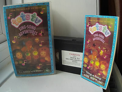 Tots TV - Sing-Song Adventures VHS Video