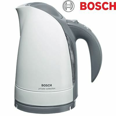 BOSCH Private Collection 1.7L Cordless Kettle 3100 Watt Rapid Fast Boil - White
