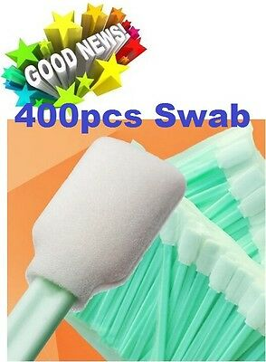 Cleaning Swabs SOFT FOAM 400pcs for Solvent Resistant Printers Parts ROLAND