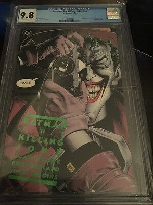 Batman The Killing Joke 9.8 CGC First Print White Pages Free Shipping!