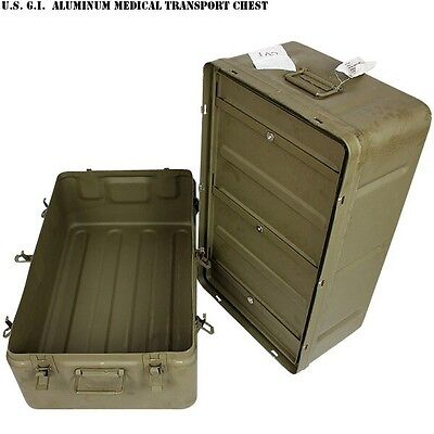 XXL Aluminum Military field medical chest