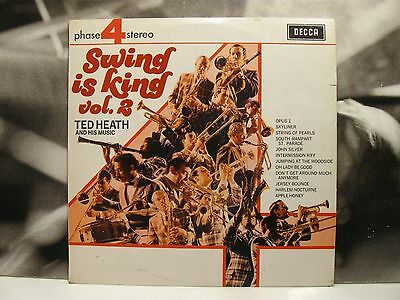 Ted Heath And His Music - Swing Is King Vol. 2 Lp Vg+/nm Decca Uk Ita Phase 4