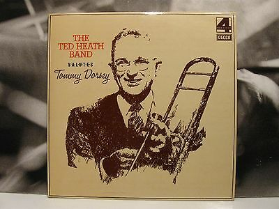 The Ted Heath Band Salutes Tommy Dorsey Lp Ex+/m- 1975 Decca Uk Ita Phase 4