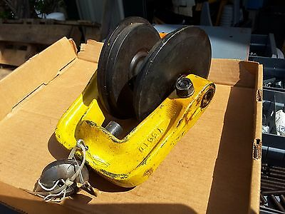 Y561D Coffing Yale Crane Beam Trolley Chain Hoist  New Nos Sale $149