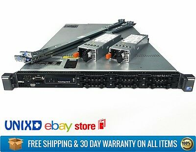 Dell PowerEdge R610 VMware Server Intel 12-Core 2.8Ghz X5660 64GB 2x PSU Rails