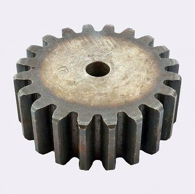 Motor Spur Pinion Gear 2.5Mod 32T 45# Steel Outer Dia 84mm Thickness 25mm x 1Pcs