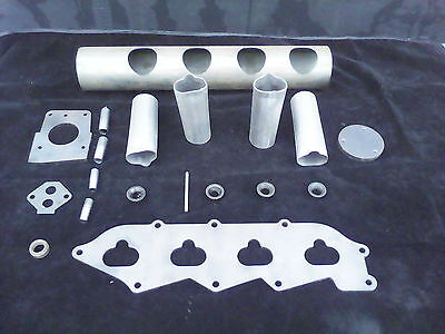 Zetec Kitcar Basic Rwd Inlet Plenum Kit Suit Locost  Seven Type Cars Weld Up