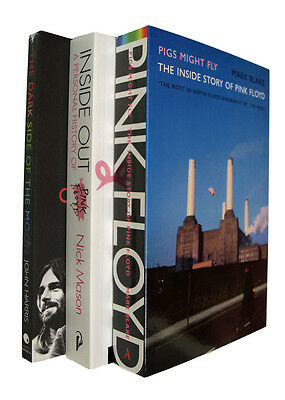 Pink Floyd 3 Book Pack Dark Side of the Moon Inside Out Pigs Might Fly Biography