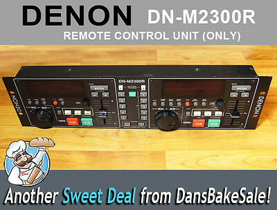 Denon DN-M2300R - REMOTE ONLY- for Dual MiniDisc Player / Recorder Tested, Works