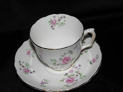 Crown Staffordshire Cup and Saucer~Fine Bone China~England