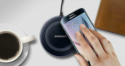 GENUINE Samsung Galaxy S6 S6+ S7 Edge Wireless Charger Charging Pad Plate.
