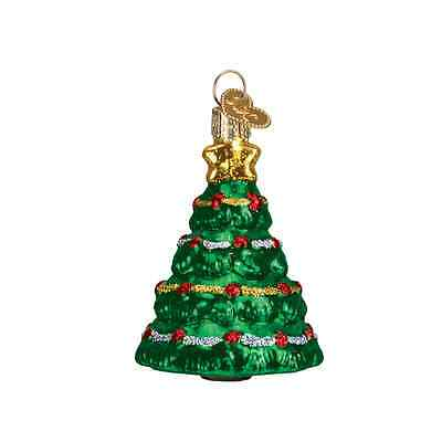"""Mini Christmas Tree"" (48031) Old World Christmas Glass Ornament"