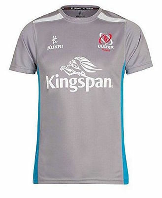 Ulster Rugby Kids Grey Performance Gym Tee 2016-17 - FREE Same day dispatch