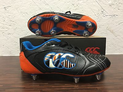 Canterbury CCC Kids PHOENIX CLUB 6 STUD Rugby Boots - FREE Same day dispatch