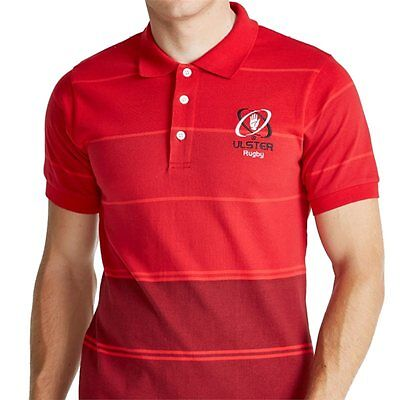 Ulster Rugby Mens Yarn Dye Polo Shirt 2016-17- Same day dispatch