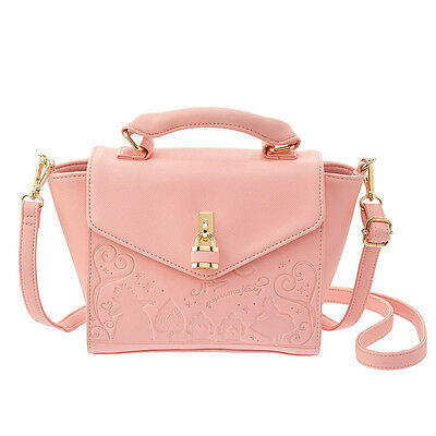 db10 Disney store tote bag (S) Alice Pink KEY TO MY HEART
